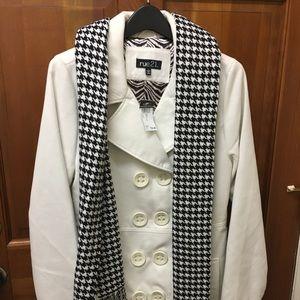 Rue21 cream colored coat